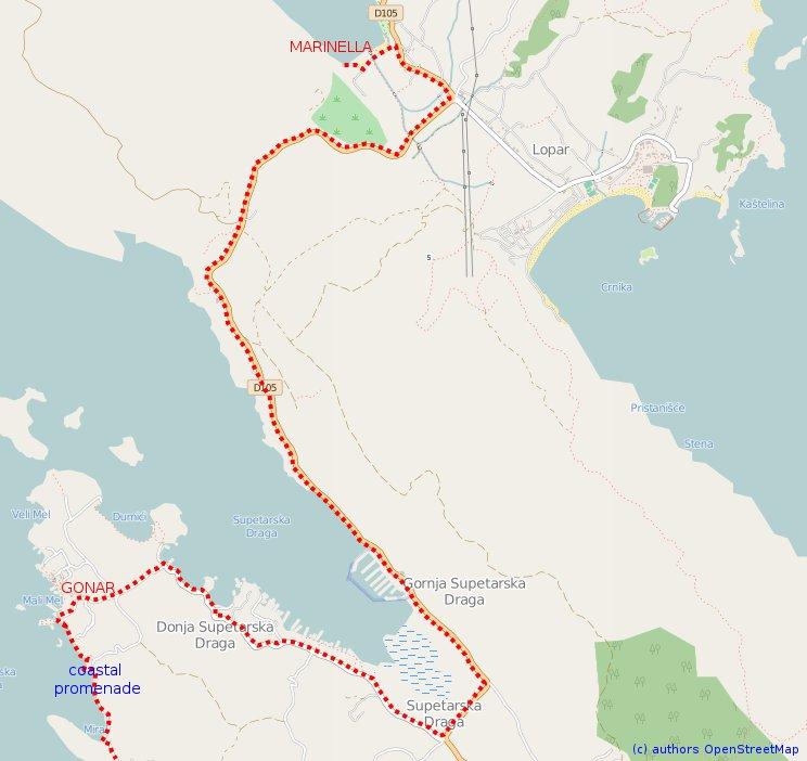MapRabCoastalTrackPart1